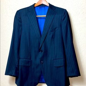 ASTOR BLACK SUIT JACKET BLACK PIN STRIPE BLAZER